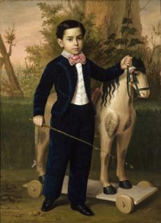 Retrato del niño Carlos Pomar Margrand. Museo de Bellas Artes de Sevilla