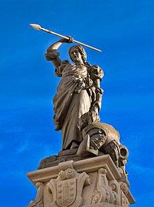 220px-A_Coruña._María_Pita's_statue._Galicia_(Spain)