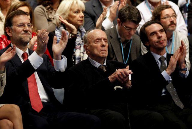 Rajoy, Fraga y Aznar