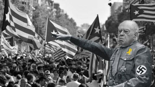 2019-11-22 nazismo independentista catalán