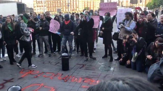 protestas por feminicidios