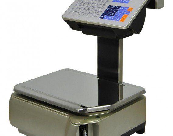 balanza comercial con impresora
