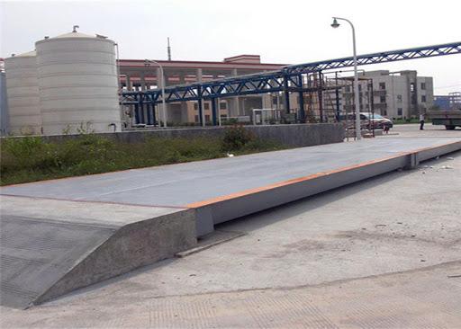 bascula puente para camiones